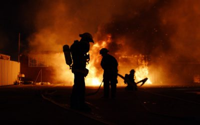 May 4th is International Firefighters' Day!